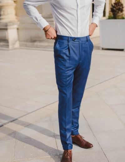Pantalon de costume sur mesure